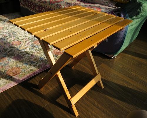 DIY 折りたたみテーブル 2号機