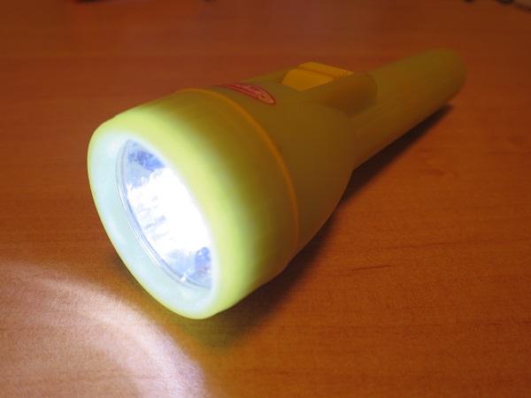 Campman ライトのLED化