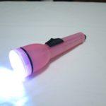 キャンドゥのライトをLEDに改造 ピンク
