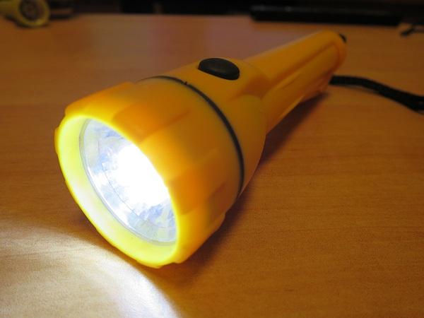 ダイソー ライトのLED化