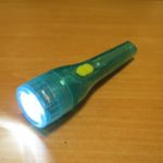 単3型のミニライトをLED化 Green