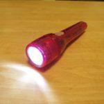 単3型のミニライトをLED化 Red