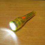 単3型のミニライトをLED化 Yellow
