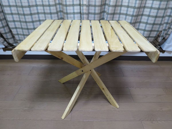 DIY 折りたたみテーブル 3号機