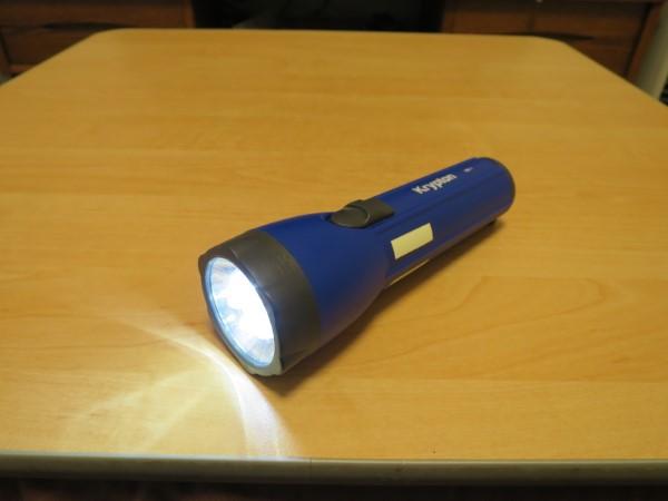 カインズホームで売ってた懐中電灯をLED化