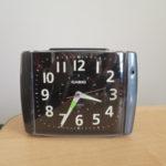 CASIOの目覚まし時計を修理した