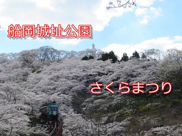 船岡城址公園桜まつり 宮城県柴田町