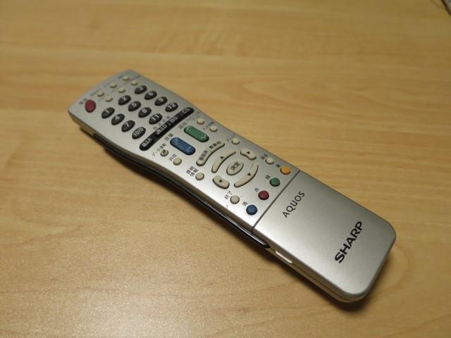 テレビのリモコン修理